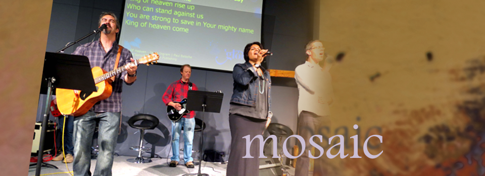 Image of Sunday morning Worship Mosaic Baptist Church