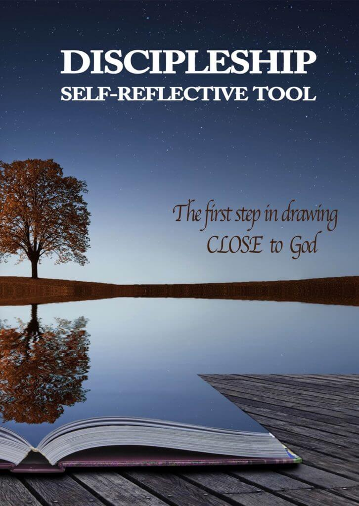 Image of front cover of Discipleship Self reflective tool