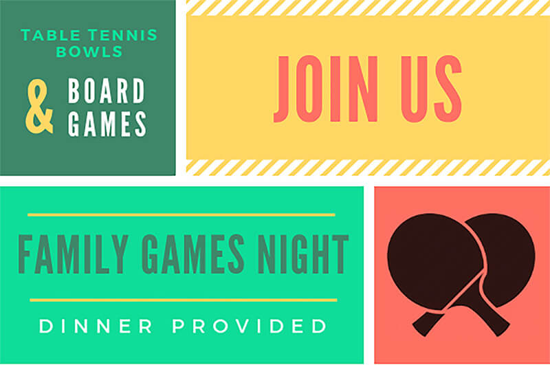 small image of the family games night flyer