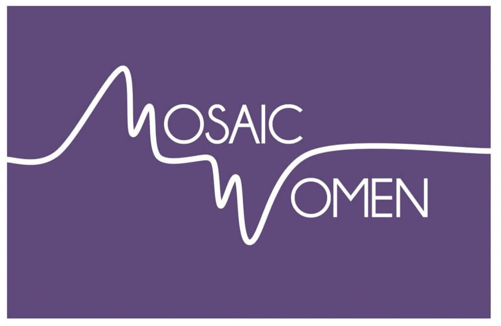 Image of the Mosaic Women's logo