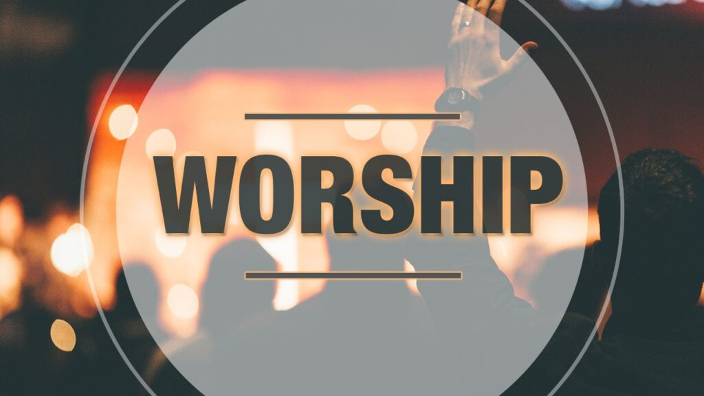 Image of the poster for Worship