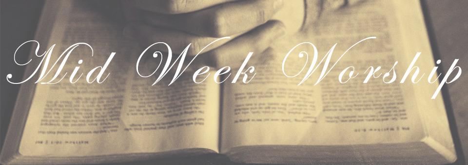Image of Mid week worship slide