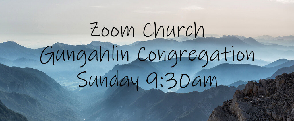 Image of the slide for Zoom church at Gungahlin